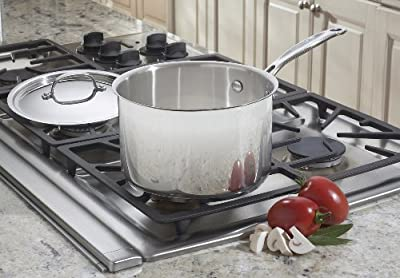 Cuisinart 7194-20 Chef's Classic Stainless 4-Quart Saucepan with Cover