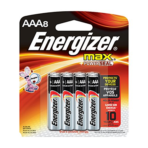 Energizer MAX AAA Batteries, Designed to Prevent Damaging Leaks (8-Count) (Go Bliss Pack compare prices)