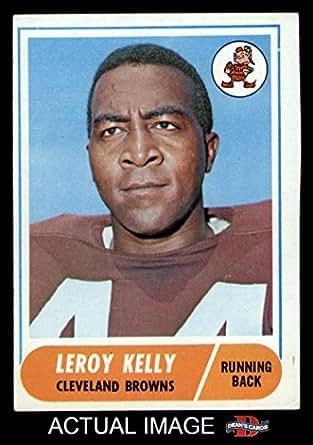Amazon.com: 1968 Topps # 206 Leroy Kelly Cleveland Browns-FB (Football