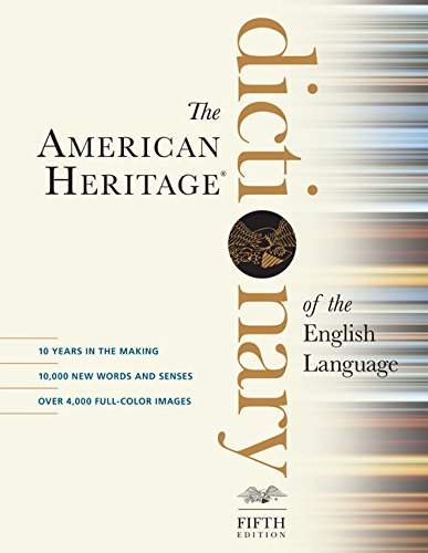 American Heritage Dictionary of the English Language, Fifth Edition PDF