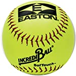 Easton A122605 12 Inch Neon Yellow Softouch Training Softball (Sold in Dozens)