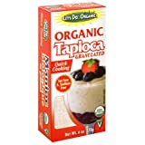 Let's do organic Tapioca-Granulated/Vegan (100% Organic), 6-Ounce (Pack of 6)