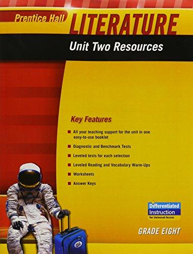 Prentice Hall Literature 2010 Unit 2 Resource Grade 8