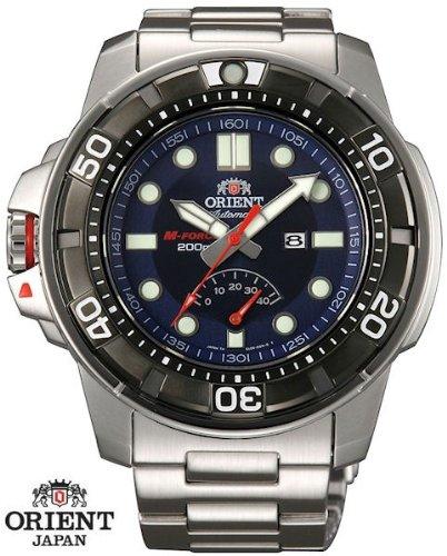 ORIENT M-Force Automatik Power Reserve Herrenuhr Saphier Handaufzug Datum SEL06001D0
