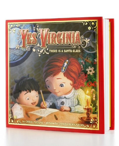 Yes Virginia Book By Chris J. Plehal All front-514135