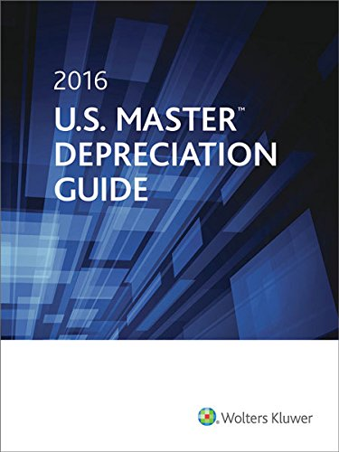 U.S. Master Depreciation Guide (2016)