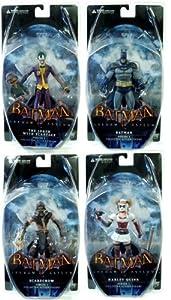 Batman Arkham Asylum Series 1 Figure Set Of 4