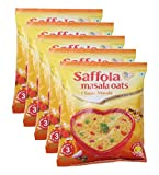 #9: Big Bazaar Combo - Saffola Oats Masala Classic, 40g (Buy 4 Get 1, 5 Pieces) Promo Pack