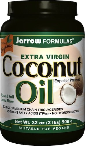 Jarrow Formulas Coconut Oil Organic Extra Virgin