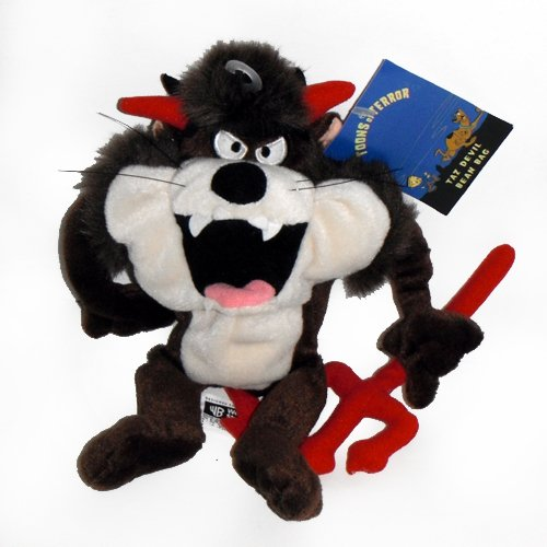 Taz Tasmanian Devil Halloween - Warner Bros Bean Bag Plush - 1