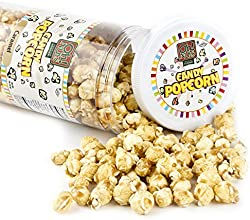 Caramel Candy Coated Popcorn 1 Pound Jar - Oh Nuts