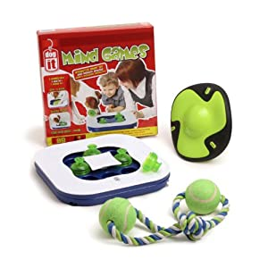 Dogit Mind Games 3-in-1 Interactive Smart Toy for Dogs, Value Bundle