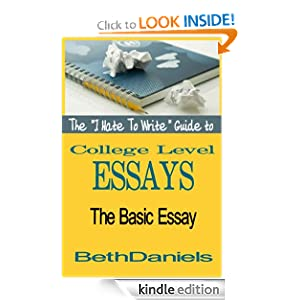 Amazon essay writing