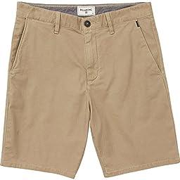 Billabong Men\'s New Order Short, Khaki, 31