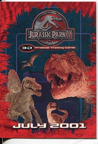 Jurassic Park Iii 3D Karte Promo jp3d-1