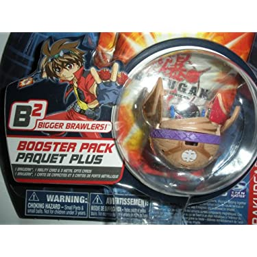 Bakugan Battle Brawlers Bakupearl B2 Series Booster Pack Sub Terra Tan Preyas Ii