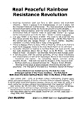 img - for Real Peaceful Rainbow Resistance Revolution by Simon Richard Lee & His And Our Lady Archangel Gabriel (2016-06-03) book / textbook / text book