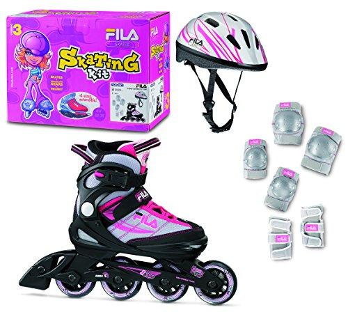 fila-skates-patines-en-linea-set-j-one-combo-g-3-negro-plata-rosa-eu-32-36