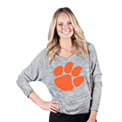Brand New Clemson Tigers NCAA Erica Ladies Long Sleeve Tee  by Things for You