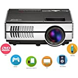 Home Theater Projector 1080p HD Widescreen Image System Entertainment Home Cinema Theater Multimedia Portable...