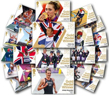 london-2012-full-set-of-29-gold-medal-winners-individual-1st-class-stamps
