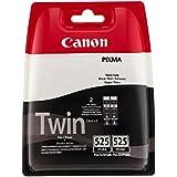 Canon PGI-525 PGBK Original Tintenpatronen, Doppelpack 2x19ml pigmentschwarz