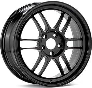 Enkei RPF1- Racing Series Wheel, Black (17×7.5″ – 5×100, 48mm Offset) One Wheel/Rim