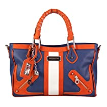 Hot Sale NFL Denver Broncos Suite Team Moto Satchel Bag