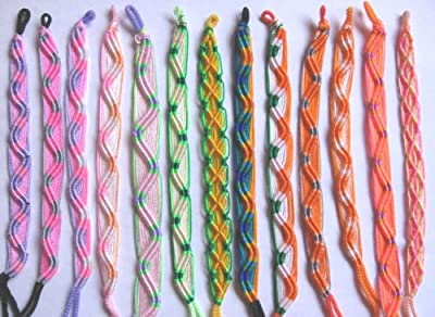Handmade FRIENDSHIP BRACELETS ~ Set of 6 ~ From PERU!