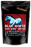 Farm-direct: 100% Kona Coffee, Peaberry, Whole Beans, 1 Lb