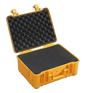 B&W International 1.4016/O/SI Valise étanche pour Appareil Photo Anti-choc Type 40 Orange