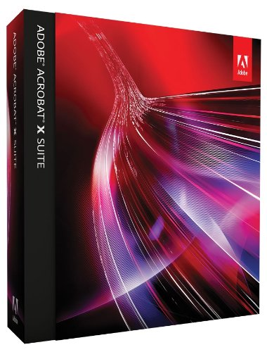 Adobe Acrobat X Suite Upsell (vf) (vf - French software)