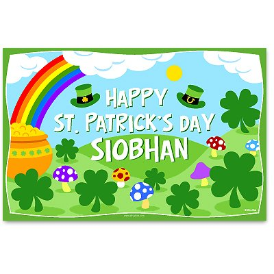 olive kids personalized st patrick 39 s day placemat 812660010813