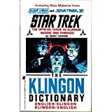 The Klingon Dictionary (Star Trek) ~ Marc Okrand
