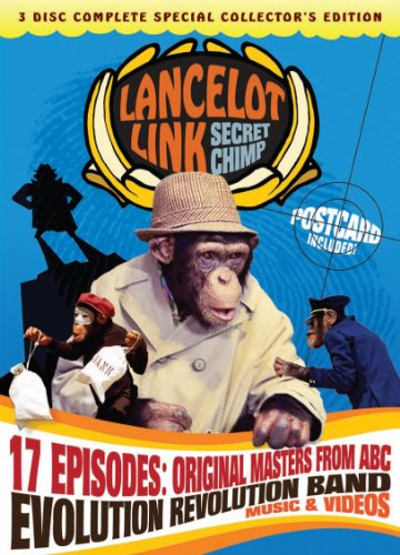 Cover art for  Lancelot Link: Secret Chimp (Authorized Edition)