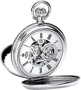 Royal London 90048-01 - Reloj de bolsillo , correa de acero inoxidable por Royal London