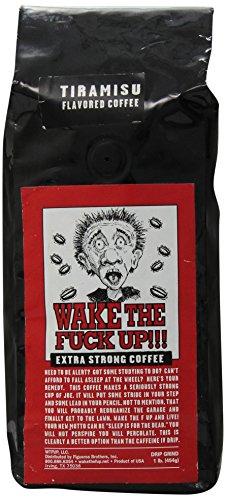 Wake the F'Up Uncensored Coffee, Tiramisu, 1 Pound (Wake The F Up Coffee compare prices)