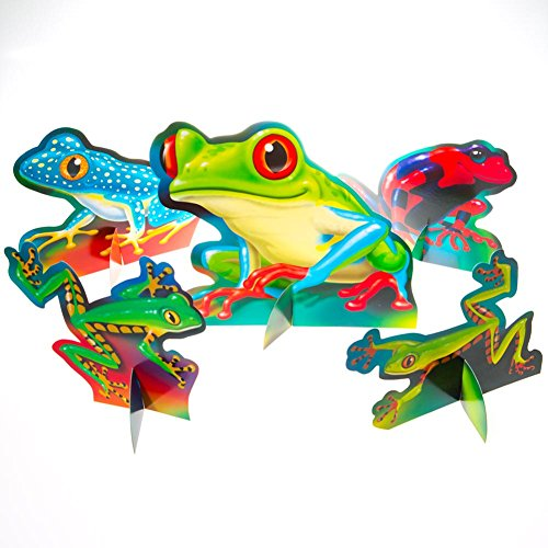 Fun Frogs Centerpieces - 1