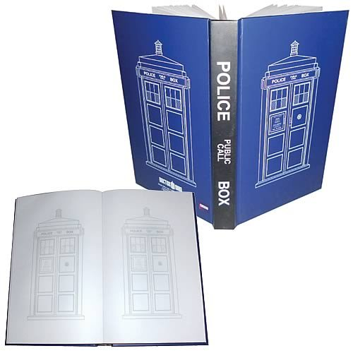 Doctor Who TARDIS Police Public Call Box Journal