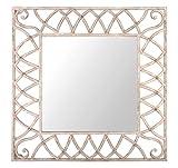 Esschert Design USA AM62 Aged Metal Rectangular Mirror