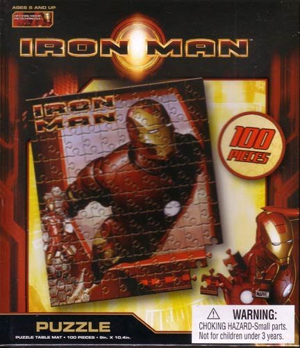 Iron Man Movie 100 Pieces Puzzle