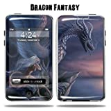 Protective Vinyl Skin Decal Cover for Apple iPod Touch 2G 3G 2nd 3rd Generation 8GB 16GB 32GB mp3 player Sticker Skins - Dragon Fantasy