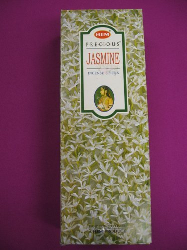 Precious Jasmine - Box of Six 20 Gram Tubes - HEM Incense