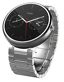 buy Motorola Moto 360 - Light Metal, 23Mm, Smart Watch ***Discontinued By Manufacturer***
