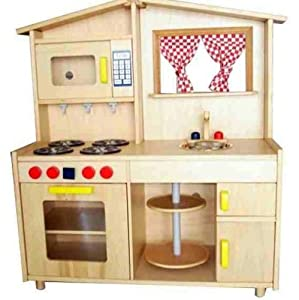 children kids wooden kitchen toy play toy. Black Bedroom Furniture Sets. Home Design Ideas