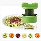 Comenzar Hand-Spiralschneider Spiralschneider Gemüseschäler Spirale Gemüse Schneider Cutter für Gemüse und Obst Neu