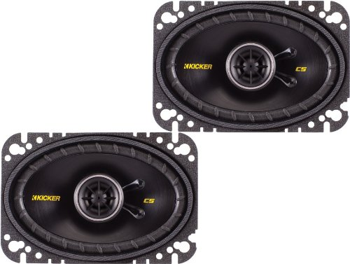 "Kicker 40Cs464 4""X6"" 2-Way Car Speakers"
