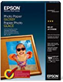 Epson Photo Paper GLOSSY (8.5x11 Inches, 100 Sheets) (S041271)