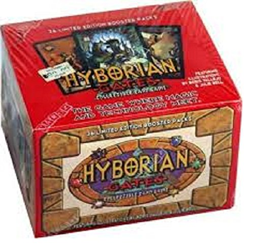 hyborian gates collectible card game booster box