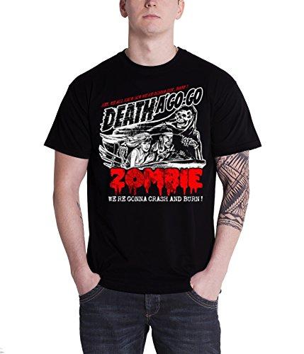 Rob Zombie - Top - Maniche corte  - Uomo nero XX-Large